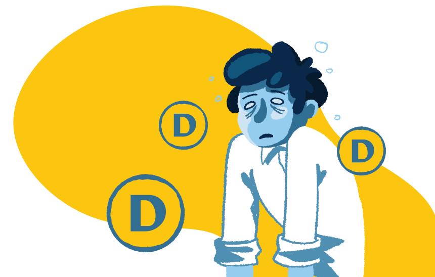 Когда речь идет опроявлениях избытка кальциферола ворганизме, помните, что передозировка может быть как острая (однократный прием чрезмерно большого количества витаминаD), так ихроническая (длительный прием высоких доз кальциферола всочетании сбогатой витаминомD диетой и/или интенсивной инсоляцией).
