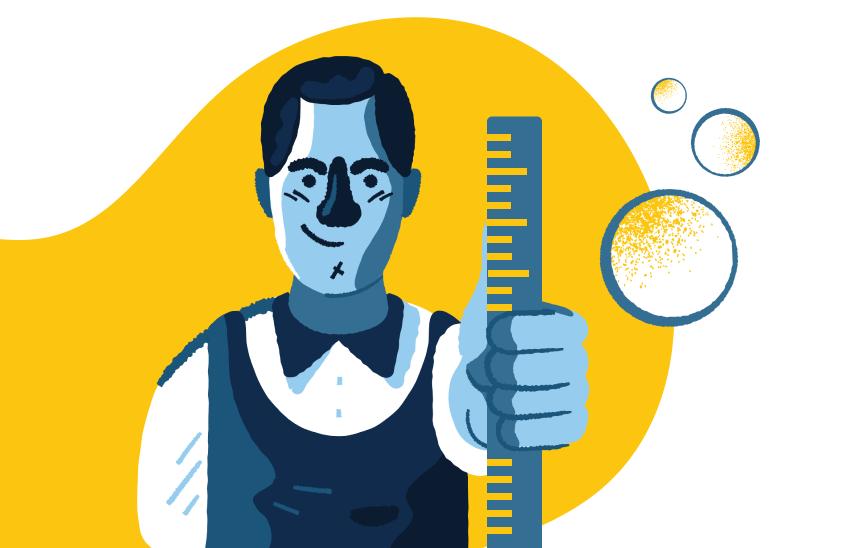 Устойчивость тканей к инсулину — одно из немногих состояний, которое можно легко определить почти «на глаз», измерив окружность талии.